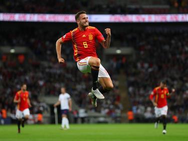 Saúl anotó el empate nada más recibir el gol inglés. (Foto: Getty)