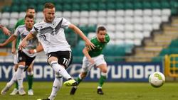 Cedric Teuchert traf gegen Irland dreifach für die DFB-Elf