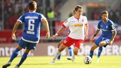 Regensburg und Darmstadt 89 trennten sich unentschieden