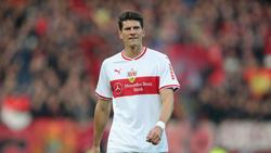 Mario Gomez erlebt beim VfB Stuttgart eine Durststrecke