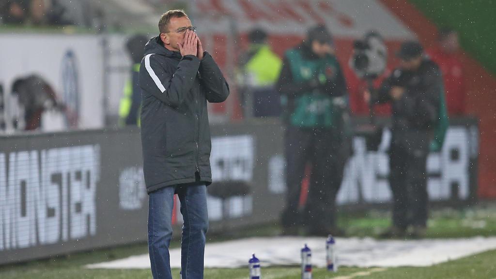 Ralf Rangnick fehlt sein Mittelfeld gegen RB Salzburg