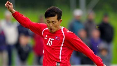 Kim Yong Jun war 2010 noch als Spieler Nordkoreas aktiv