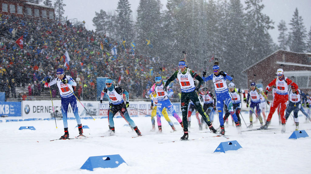 Bei der Biathlon-WM geht ein gemischtes Teilnehmerfeld an den Start