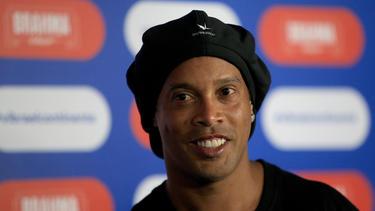 Stolzer Vater: Ronaldinho