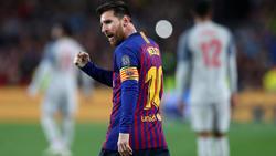 Messi marcó 12 goles en la temporada 2018-2019 de la Champions.