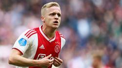 Donny van de Beek soll beim FC Bayern auf dem Wunschzettel stehen