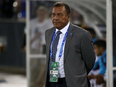 Carlos Tábora, técnico de Honduras Sub-20. (Foto: Getty)