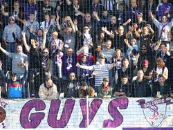 Müssen die violetten Fans in Salzburg auf ihren Verein verzichten?