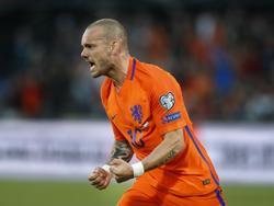 Wesley Sneijder sucht sein Glück nun in Katar