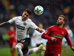 Eintracht Frankfurt musste sich mit einem Remis gegen den SC Freiburg zufrieden geben