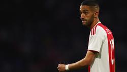 Hakim Ziyech bliebt vorerst bei Ajax Amsterdam