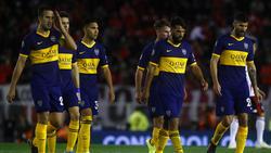 Boca Juniors se marcha derrotado ante River en Libertadores.