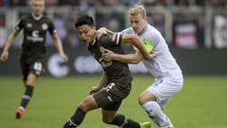 Der SV Darmstadt erkämpfte sich beim FC St. Pauli einen knappen Sieg