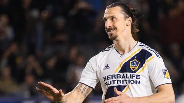 Zlatan Ibrahimovic will die MLS gewinnen