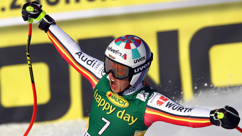 Viktoria Rebensburg gewinnt Super-G in Lake Louise