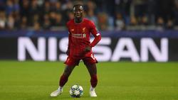 Naby Keita kommt beim FC Liverpool nur langsam in Fahrt