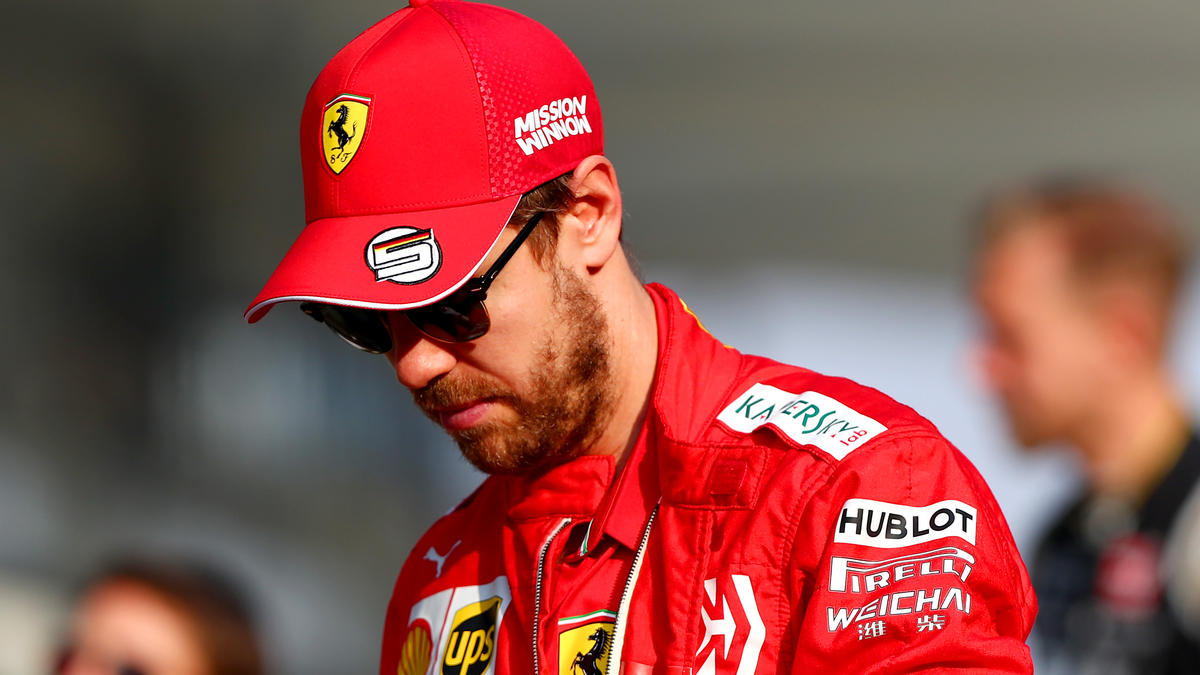 Sebastian Vettel nach schwacher Saison frustriert