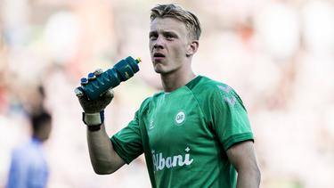 Oliver Christensen wurde beim HSV gehandelt