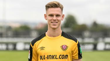 Julius Kade unterschreibt bei Dynamo Dresden