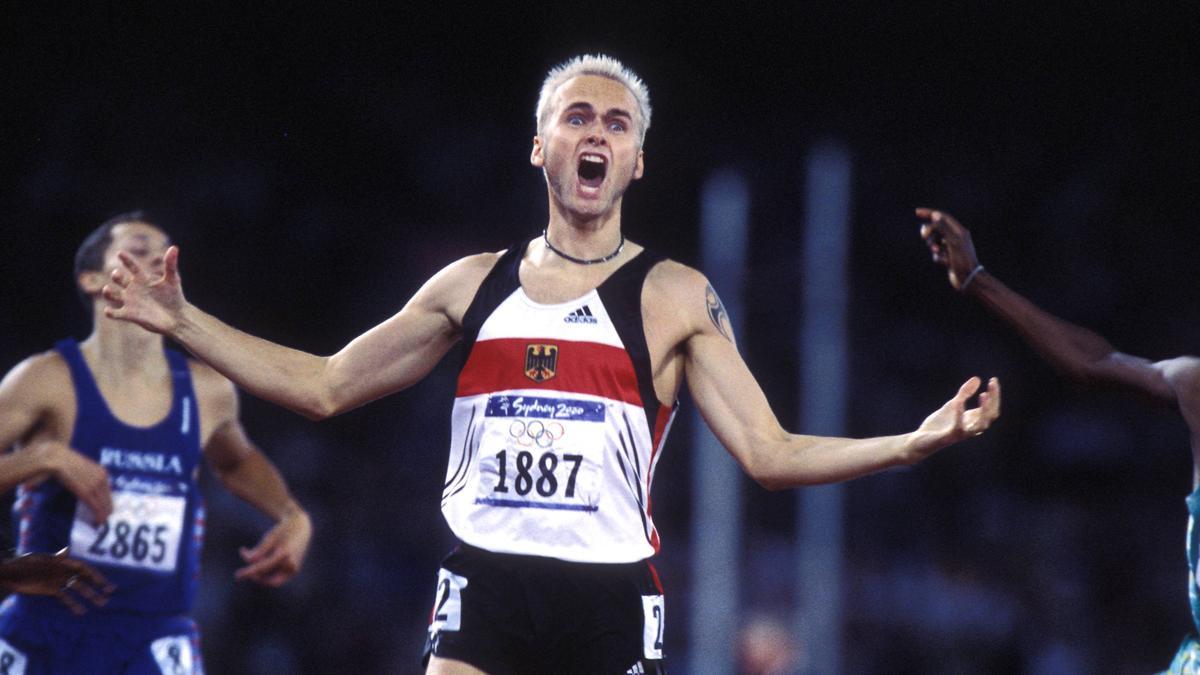 Blondschopf Nils Schumann spurtete in Sydney 2000 sensationell zu Gold