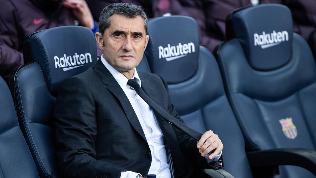 Ernesto Valverde steht beim FC Barcelona vor dem Aus