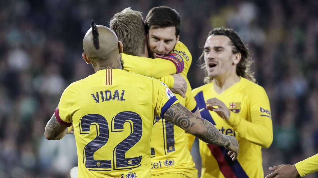 Messi volvió a ser el mejor del encuentro.