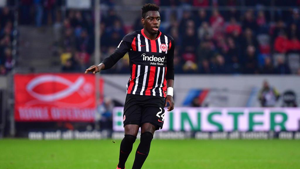 Bei Eintracht Frankfurt derzeit keine Stammkraft: Danny da Costa