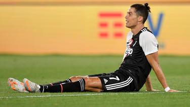 Ein gebrauchter Tag für Cristiano Ronaldo