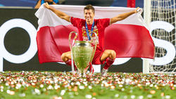 Top-Torjäger und neuerdings auch Triplesieger: Robert Lewandowski vom FC Bayern