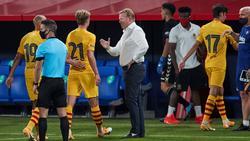 Gelungenes Barca-Debüt für Ronald Koeman