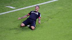 Leon Bailey traf für Bayer Leverkusen