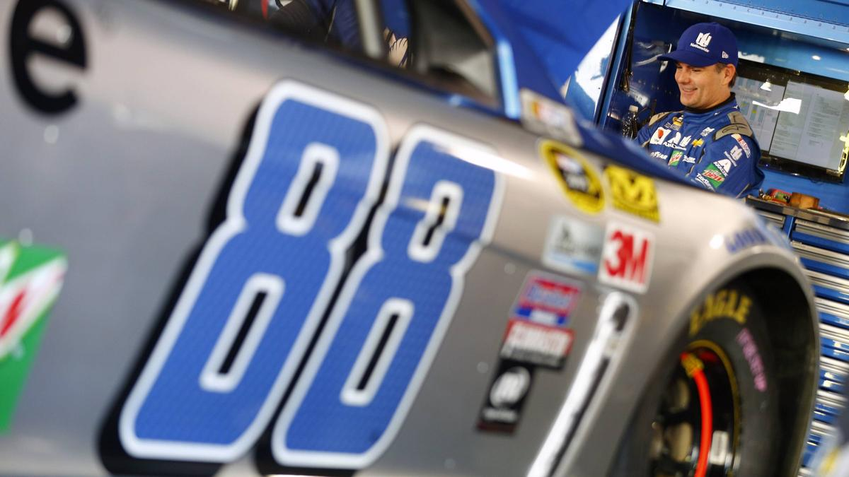 Jeff Gordon sammelte lieber weiter in der NASCAR Erfolge