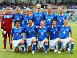 Turnierstart für die Squadra Azzurra