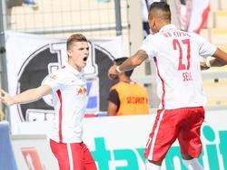 Marcel Sabitzer traf zum entscheidenden 1:0 für Leipzig