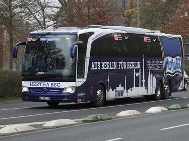 Tras el episodio del autobús, el Hertha pudo disputar su choque ante el Bielefeld. (Foto: Imago)