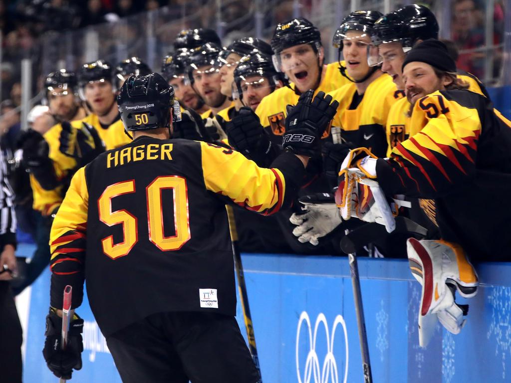 Patrick Hager brachte die deutsche Mannschaft gegen Norwegen in Führung