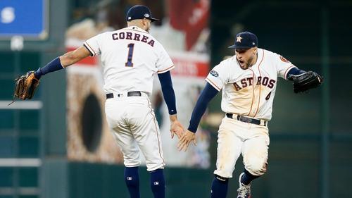 Die Houston Astros siegten gegen Cleveland