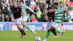 Celtic schlägt die Hearts