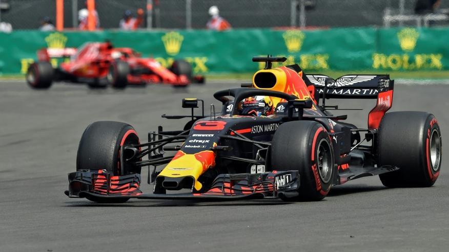Daniel Ricciardo wird um fünf Startplätze zurückversetzt