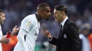 Kevin-Prince Boateng und Niko Kovac feierten gemeinsam den DFB-Pokalsieg
