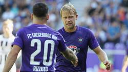 Jan Hochscheidt traf für den FC Erzgebirge zum zwischenzeitlichen 3:0