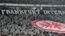 Die Fans von Eintracht Frankfurt sind heiß auf die Europa League