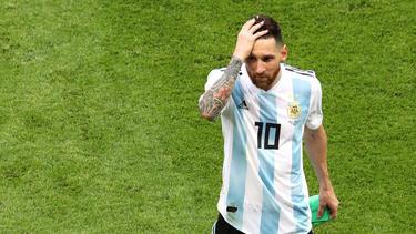 Die Dresdner Fußball-Fans müssen auf Superstar Lionel Messi verzichten