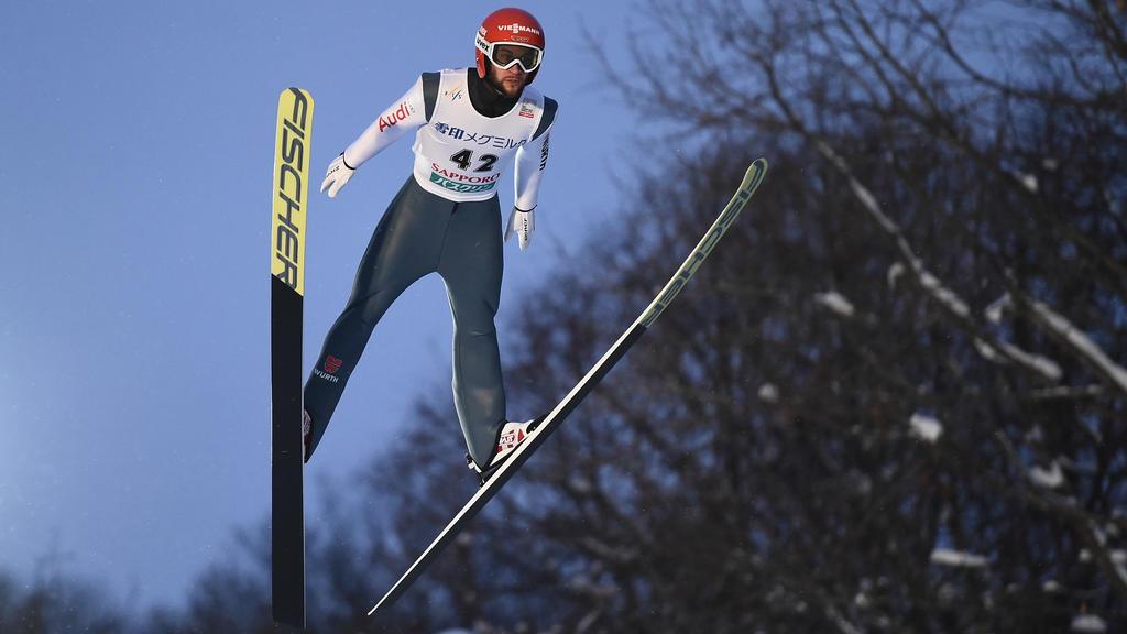 Markus Eisenbichler flog in Oberstdorf am Sonntag auf Rang zehn