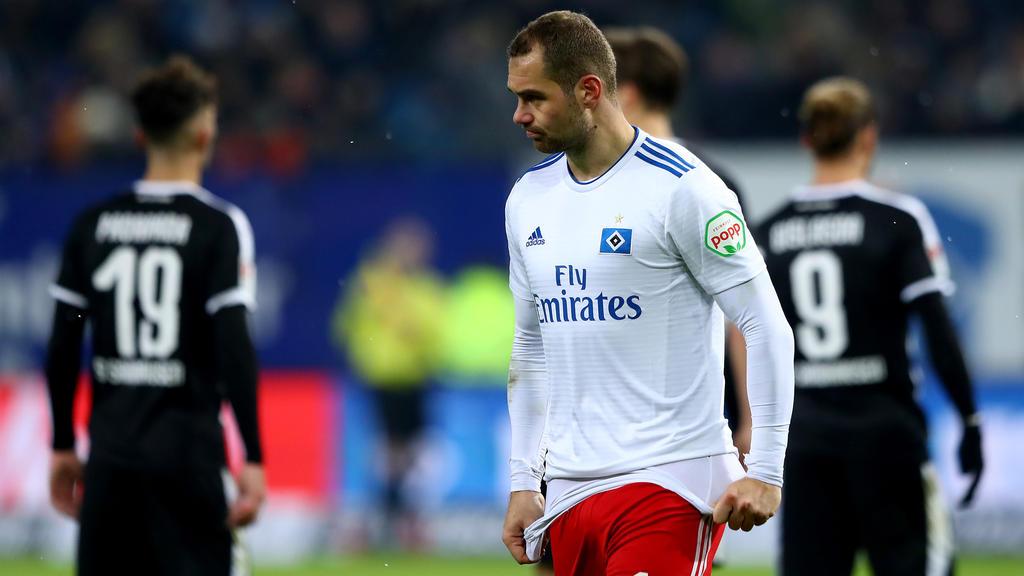 Verlängert Pierre-Michel Lasogga seinen Vertrag in Hamburg?