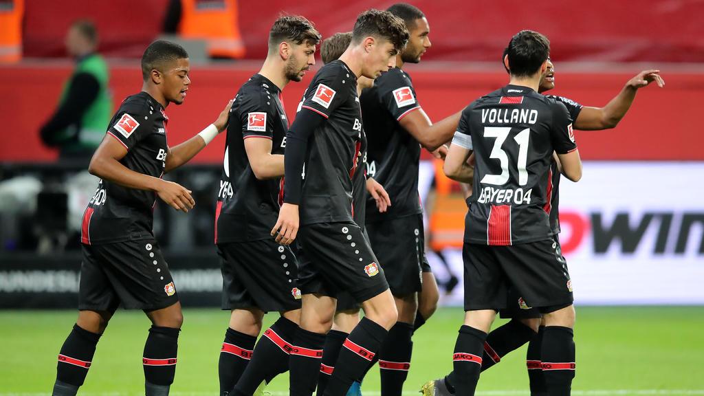 Bayer Leverkusen gewinnt mit 2:0 gegen Fortuna Düsseldorf