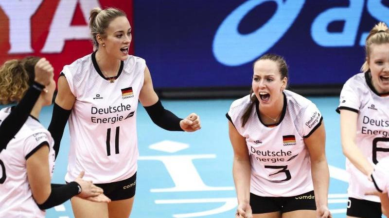 Siegreich in China: Deutschlands Volleyballerinnen