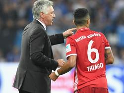 Ancelotti cuenta con Thiago para octavos de la Champions. (Foto: Getty)