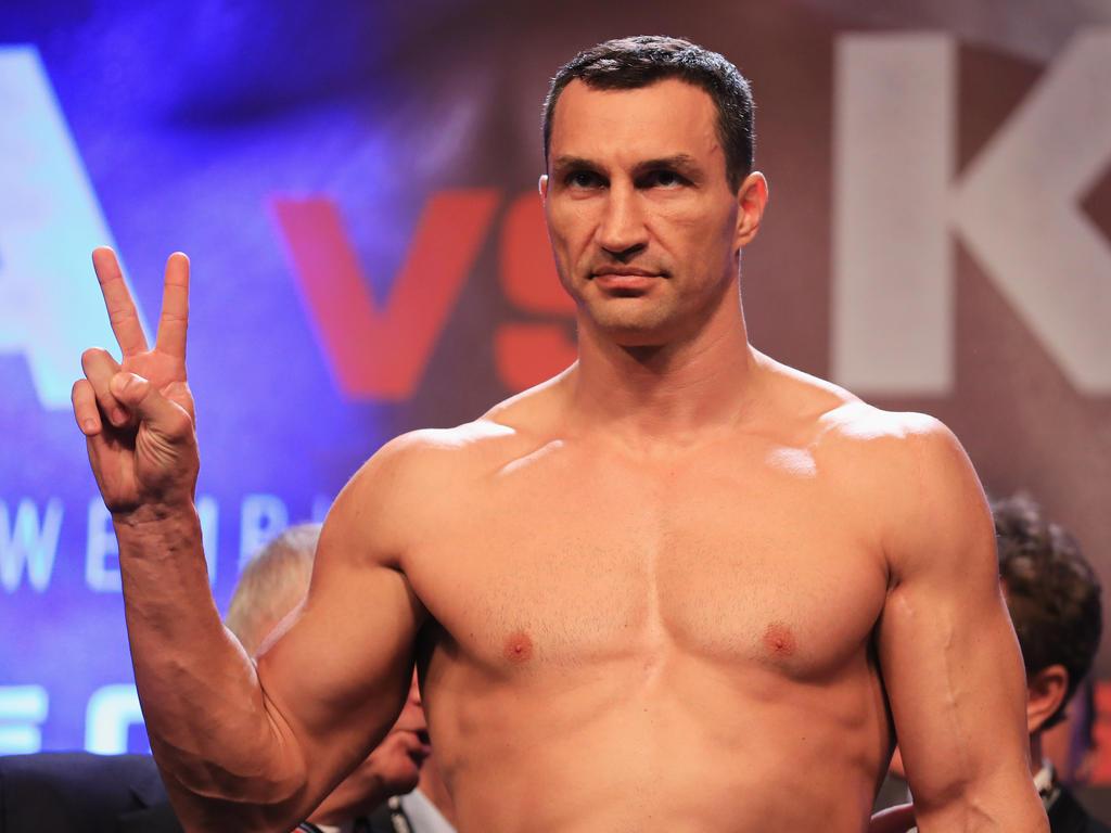 Leichtgewicht Klitschko über Vier Kg Weniger