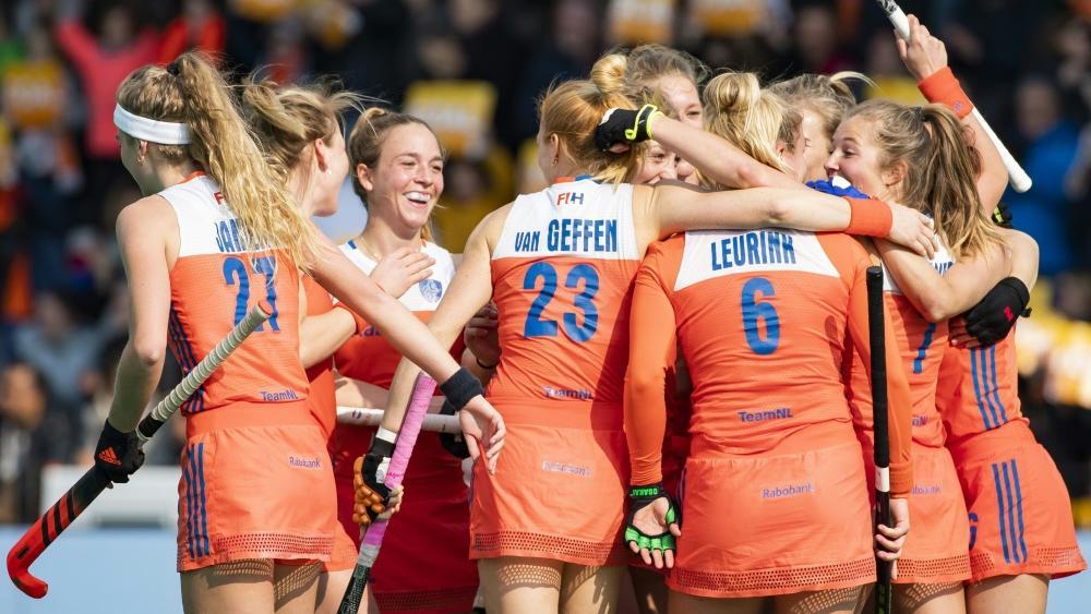Die niederländischen Hockey-Frauen stehen im EM-Finale